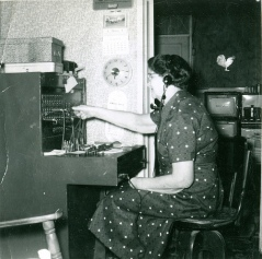 Average Small town telephone operator