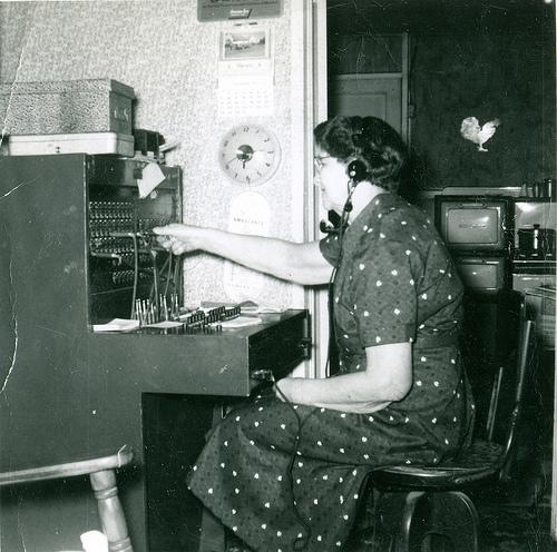Average Small town telephone operator