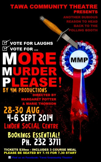 More Murder Please - Theatre Poster