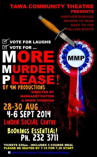 More Murder Please - Theatre Poster