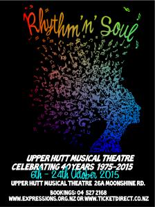 Upper Hutt Musical Theatre Show Poster