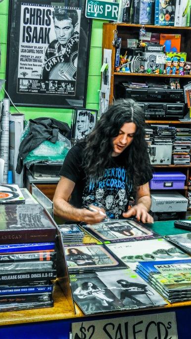Kurt Vile at Slowboat Records